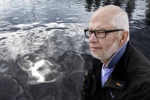 Håkan Byberg från Njurunda reste med färjan Mariella som var först framme vid olycksplatsen där Estonia sjönk.