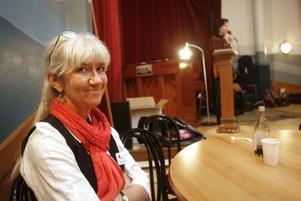 Lena Engström Ekeberg ser gemenskapen i Sjömanskyrkan som en skön motvikt till den kommersiella julen