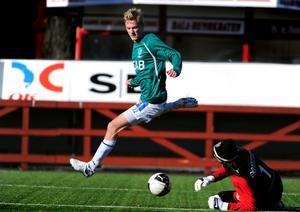 Efter en motig säsong i Brage hoppas nu Pontus Hindrikes på en nytändning i Kvarnsveden 2012.