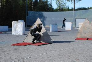 Paintball-action i Hertsjö.