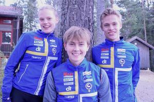 Vilma von Krusenstierna, Jonas Gustafsson och Isac von Krusenstierna är tre av OK Kåres unga talanger.