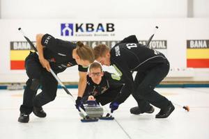 Lag Lit Eriksson med Kristian Lindström i mitten, flankerad av Markus Eriksson och Christoffer Sundgren.