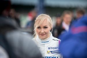 Emma Kimiläinen blev snabbt en av STCC:s stora profiler. Nu gör hon sin tredje säsong i serien.