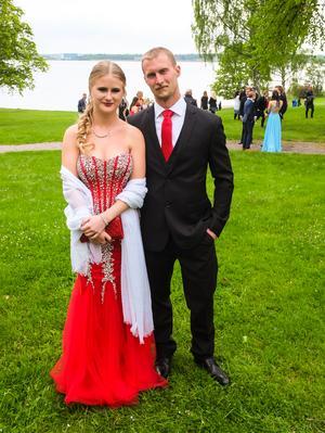 Tomas Andersson och Matilda Eriksson.