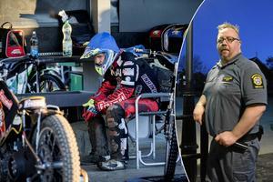 Kai Salonen, till höger, är ny styrelseledamot i Indianerna Speedway AB.