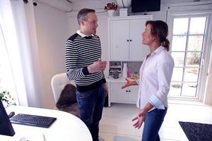 Niklas Bergendal är assistentcoach i Susanne Westins företag Assistansbyrån Vilja.