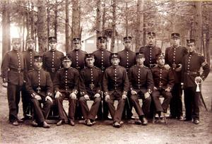 Någon som känner till något om soldaterna vid Hälsinge regemente för mer än 110 år sedan?