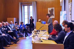 Bärplockarproblematiken diskuterades under ett seminarium i riksdagens ledamotshus under tisdagen.
