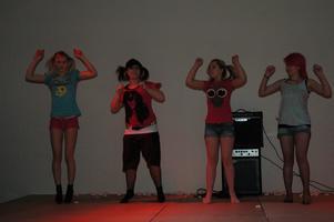 Dansant kvartett.