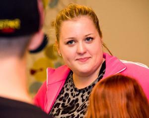 Tränaren Matilda Olsson ansvarar för dansarnas utveckling.
