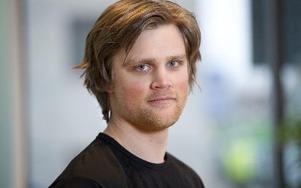 Inget VM i norska Voss för skicrossåkaren Michael Forslund från Mora. Foto: Fredrik Sandberg/SCANPIX