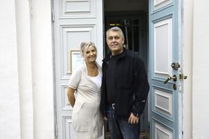 Nya föreståndare. Till hösten tar Maria och Dennis Hjalmarsson över verksamheten i Kåfalla.