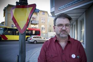 Rolf Lindqvist, ny ordförande i Hudik mot rasism.