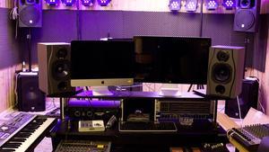 Den frikostiga ytan ger utrymme för bland annat en musikstudio.