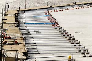 Hudiksvalls sjösportssällskap planerar en förlängning av betongbryggan med 15 meter. På samma gång ska bryggan vinklas om för att bättre bryta vågorna.