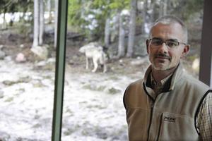 Benny Gäfvert på Rovdjurscentret De 5 Stora.
