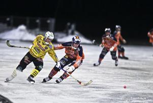 Jonas Nygren och Broberg körde till slut ifrån Ville Aaltonen och Bollnäs.