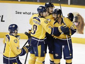 Nashville-spelarna Filip Forsberg och Mattias Ekholm är klara för spel ishockey-VM i Prag.