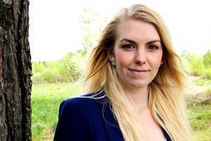 Sofie Westh från Edsbyn är nöjd, trots att hon inte vann titeln Miss Sweden.