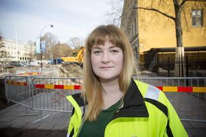Martina Hedström är trafikingenjör på Livsmiljö, Gävle kommun.