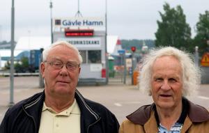 Styrbjörn Granquist och Johnny Andersson ligger bakom den nya ideella föreningen Gefle Seaman's Mission.
