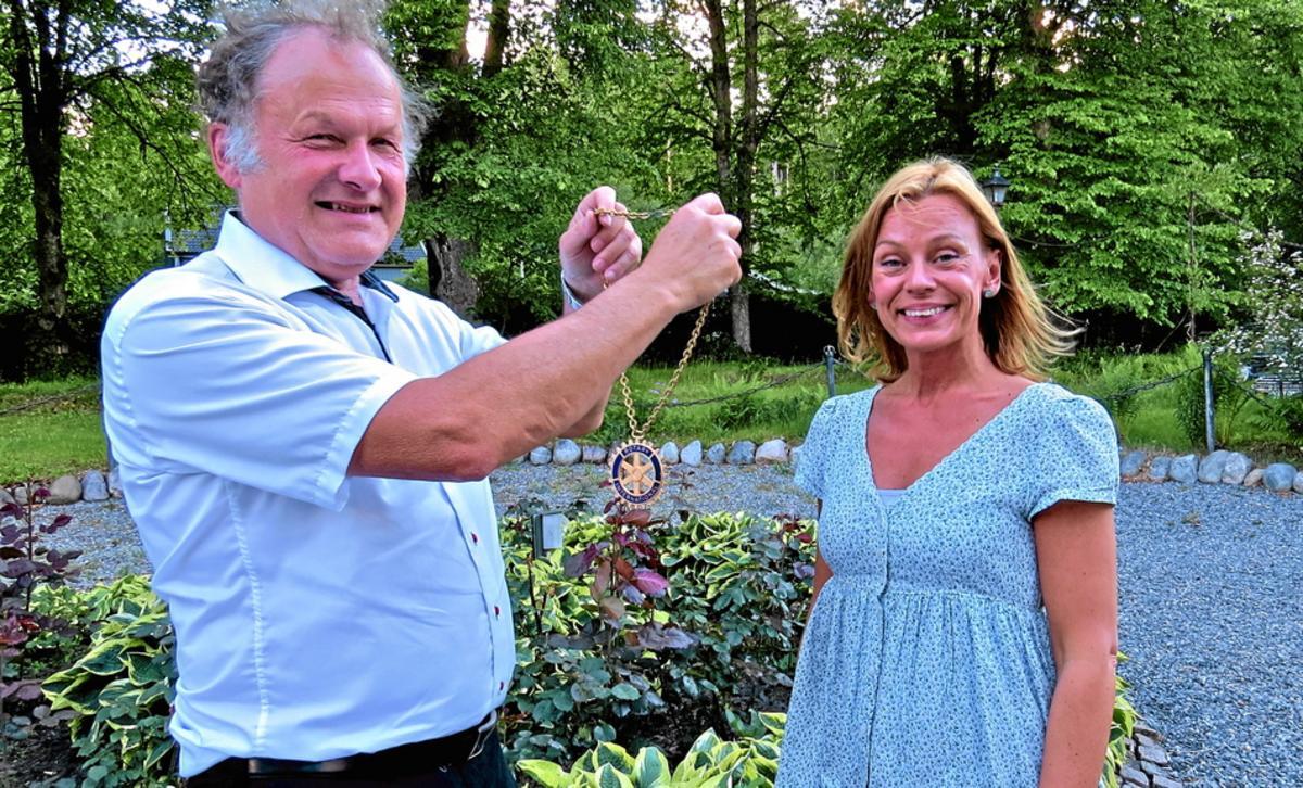 c5894576751 Gunilla Willenfors är ny president i Rotary i Nora