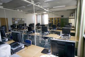 Från och med i höst hålls datasalen stängd, om det inte är lektion.