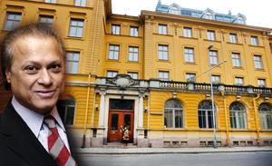 Bicky Chakraborty, ägare av hotellimperiet Elite Hotels of Sweden, besökte i veckan Gävle och gick igenom Gamla Grand.