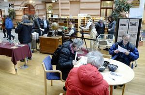 Sundsvalls Tidning firar 175 år med utställning på biblioteket i Kulturmagasinet.