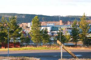 2 miljoner har investerats för att skapa en inramning av företagsstaden Lugnvik. Foto: Karin Bångman