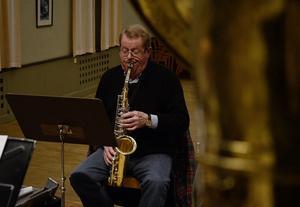 Rolf Hedvall är kapellmästare i Ströms bruksorkester och har varit med sedan 90-talet.