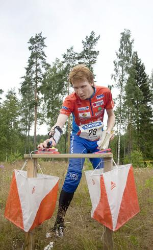 Jerker Lysell sprang den sjätte (dag)sträckan när Rehns BK slutade 31:a i Tiomila.