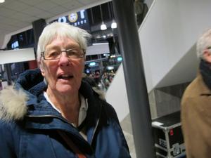 Ingrid Wallman, fyllt 30 för länge sen, pensionär, Gävle:– Mycket. Brynäs, det är ju någonting som man känner igen över hela Sverige.
