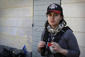 Anna-Karin Jansson är den näst yngsta att delta i vandringen i år