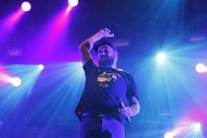 In Flames på Getaway Rock Festival 2013.