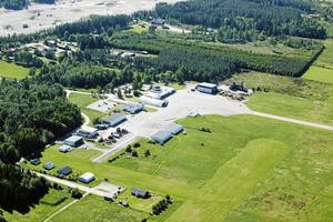 Rörbergs flygplats. Foto: Lasse Halvarsson/arkiv