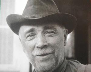 Frost-Anders Andersson. Bilden togs sommaren 1936.