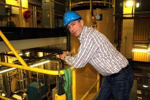– Vi investerar stort både i säkerhet och effektivitet, säger Tomas Andersson fån Eon Värme.