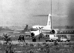 kapning. 1972 kapades ett Sasflygplan som startat från Torslanda i Göteborg. Det bidrog till den terroristlag som säger att utländska medborgare kan utvisas på lösa grunder. Arkivfoto: Scanpix