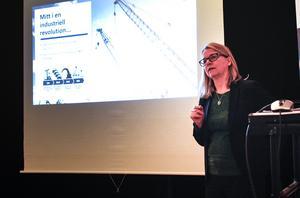 Professor Monica Belgran konstaterade att vi lever mitt i en ny industriell revolution.