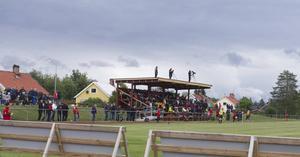 Här ska det avgöras. Sveg och Hede möts för derby på Svegs IP. Foto:Trenton Alsbrooks