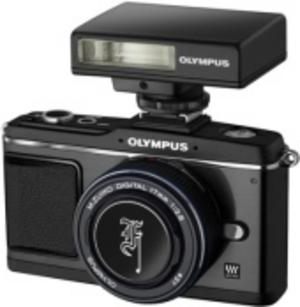 Olympus satsar på svart