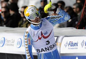 André Myhrer blev tvåa i Bansko.
