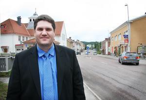 Mikael Reijer är ny vd för Alfta-Edsbyns fastighets AB.