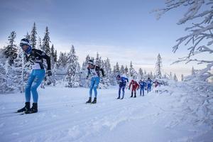Så här inbjudande och vintrigt såg det ut vid fjolårets upplaga av Tåsjödalen Classic Ski.