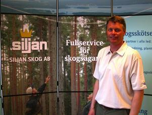 Skogskontor. Siljans Skog AB har nu också etablerat sig med ett kontor i Västerdalarna och det ligger i centrala Malung där Jan Ericsson kommer att sköta kontoret.