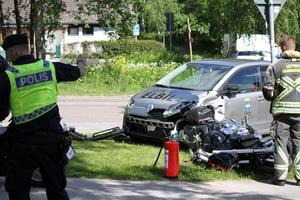 Trafikolycka i Sätra
