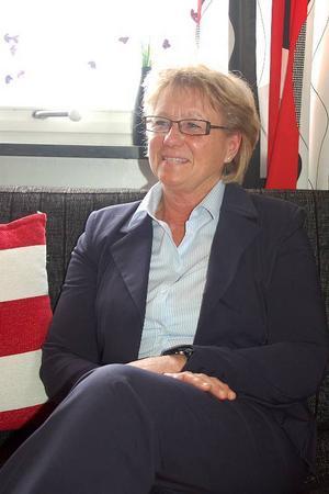 Agneta Nord Hansson tycker det är roligt att jobba och ser fram emot ett nytt ställe att jobba på – Härjedalen.– Jag har inga som helst planer att gå i pension i 65-årsåldern, säger hon och skrattar.   Foto: Carin Selldén