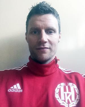 Lars Nilsson, spelande tränare i Hede.