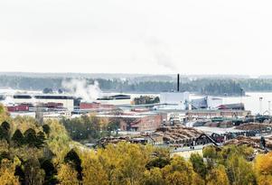 En arbetsplats olycka inträffade under natten mot onsdagen på Ala sågverk.